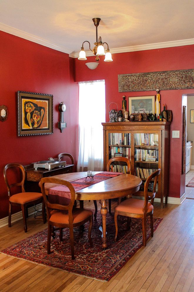 Broadway Carpets for a Traditional Dining Room with a Traditional and Adam Cayton Holland by Lauren Mikus