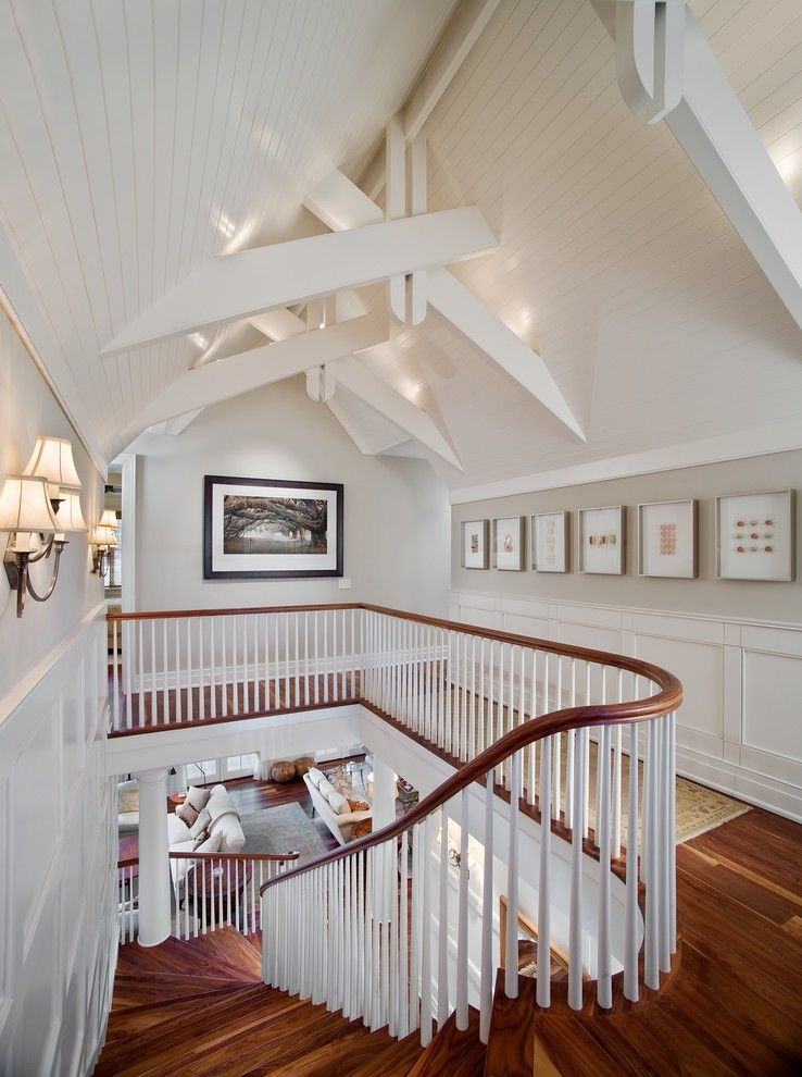 Buffington Homes for a Traditional Hall with a Wall Sconces and Kiawah Island National Award Winner by Buffington Homes South Carolina