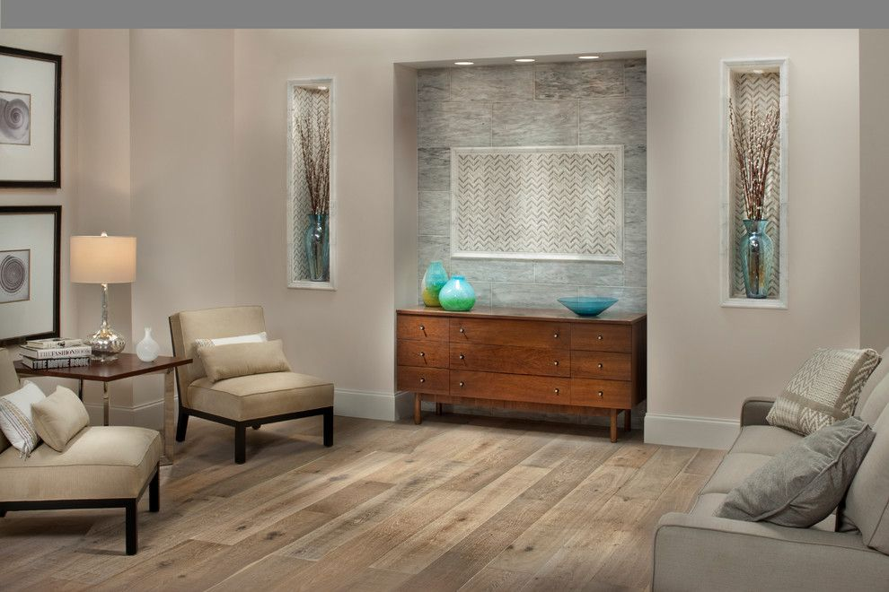 Bufftech for a Contemporary Living Room with a Contemporary and Floor & Decor by Floor & Decor
