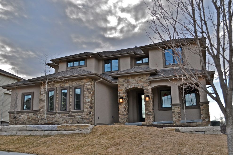 Builders Supply Omaha for a Contemporary Exterior with a 2 Story and Front by Anthony Company Builders Llc