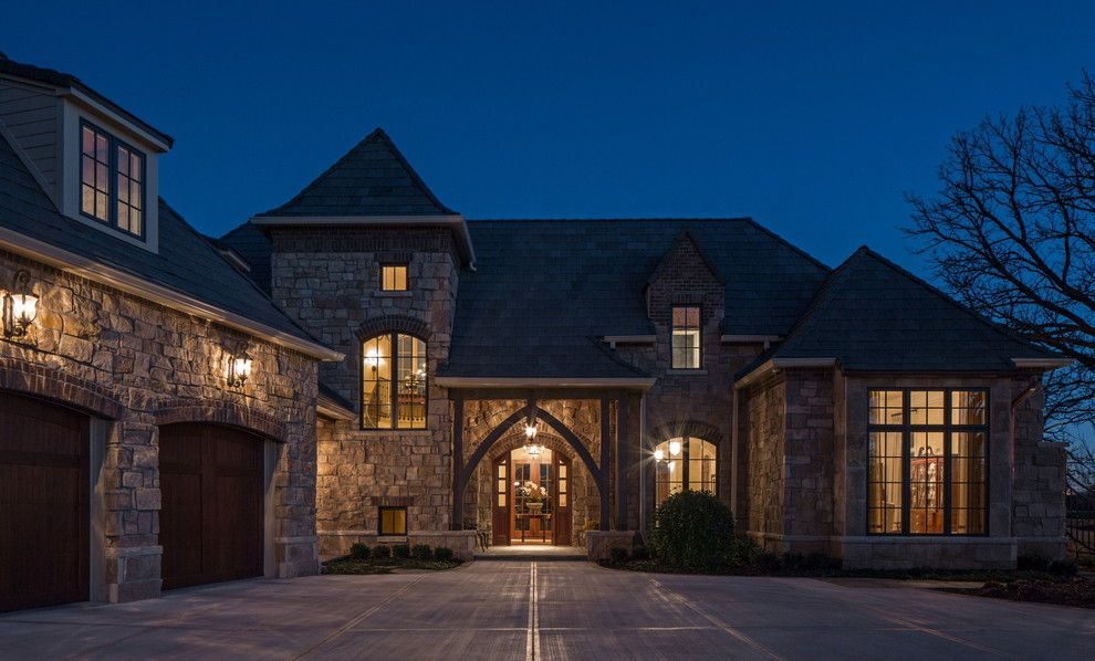Builders Supply Omaha for a Traditional Exterior with a Lantern and Twelve Oaks by Curt Hofer & Associates