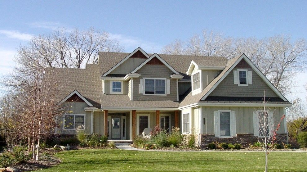 Builders Supply Omaha for a Traditional Exterior with a Traditional and Elevations by La Home Builders