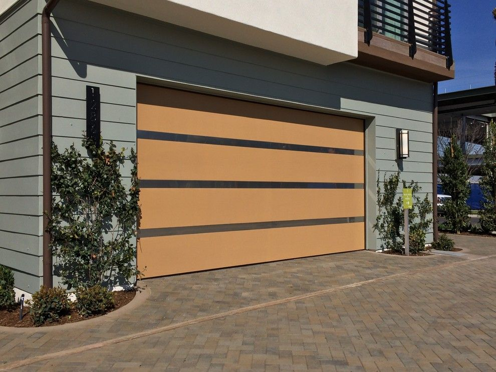 Builders Surplus Santa Ana for a Modern Shed with a Modern and Modern Garage Doors by Ziegler Doors Inc.