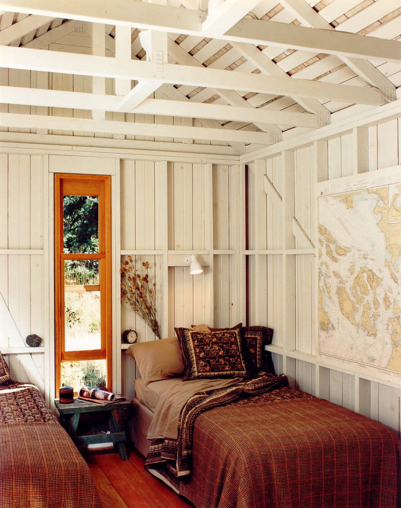 Bunkie for a Rustic Bedroom with a Cabin and Mt. Shadows by Bosworth Hoedemaker