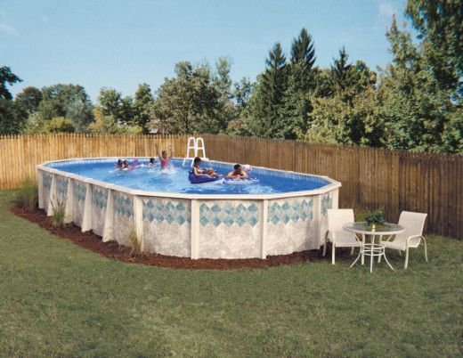 Burton Pools for a  Pool with a  and Doughboy Above Ground Pool From Burton Pools by Burton Pools and Spas