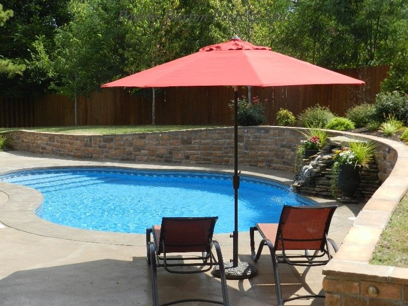 Burton Pools for a  Pool with a  and Vinyl Lined Pools From Burton Pools by Burton Pools and Spas
