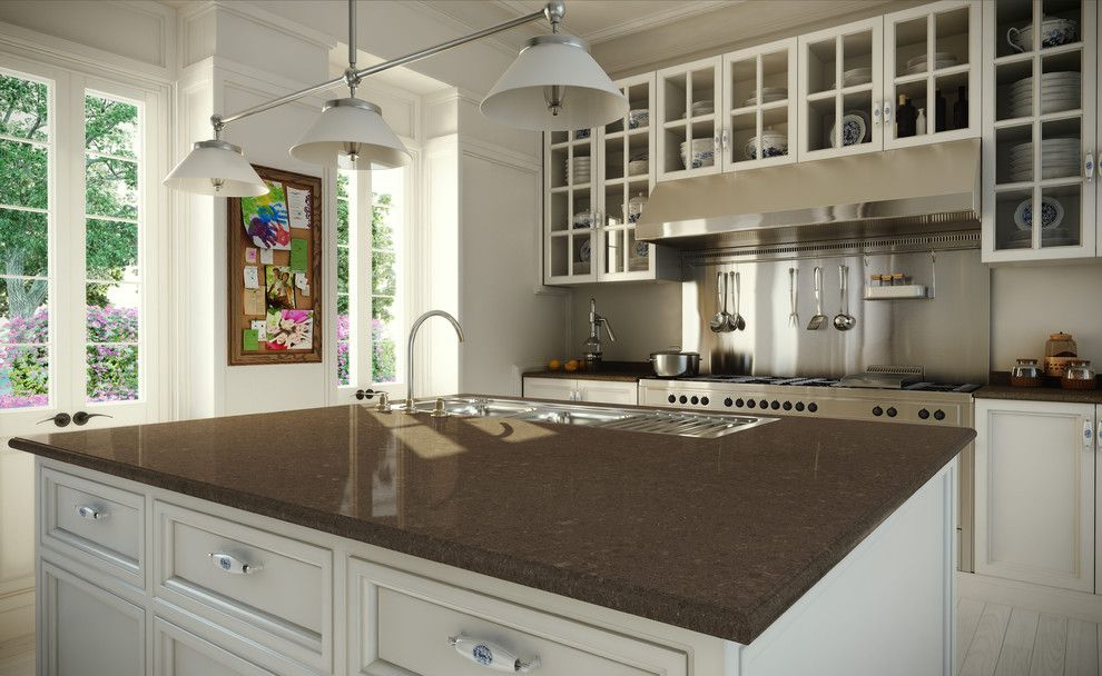 Caeserstone for a Contemporary Kitchen with a Contemporary and Caesarstone by Caesarstone