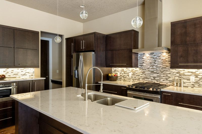 Cambria Countertops for a Modern Kitchen with a Quartz and Torquay Kitchen by Renaissance Granite & Quartz