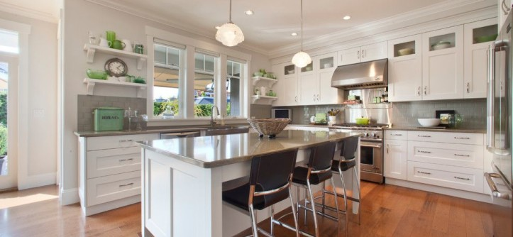 Cambria Countertops for a Traditional Kitchen with a Cambria Quartz Countertops and Qualicum Beach Residence by Richardson Homes Ltd
