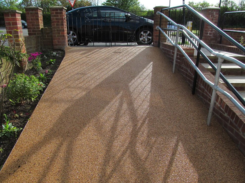 Camden South Capitol for a Contemporary Exterior with a Resin Flooring West Sussex and Resin Flooring South East England by RESIN FLOORING NORTH EAST LTD