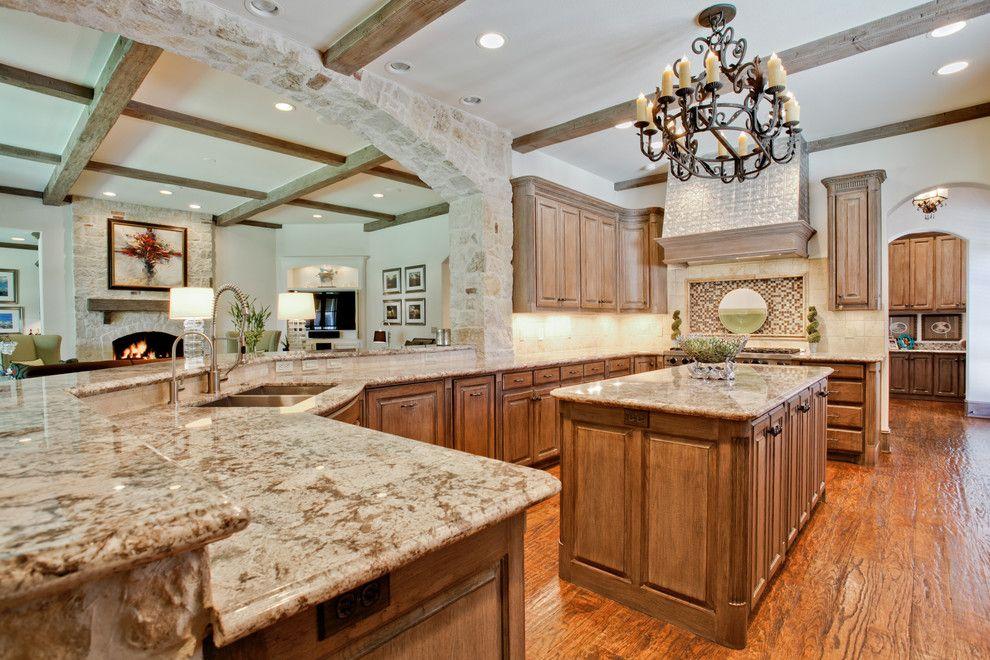 Canby Builders Supply for a Traditional Kitchen with a Arched Fireplace and Orchid Lane Dallas, Tx by Rosewood Custom Builders