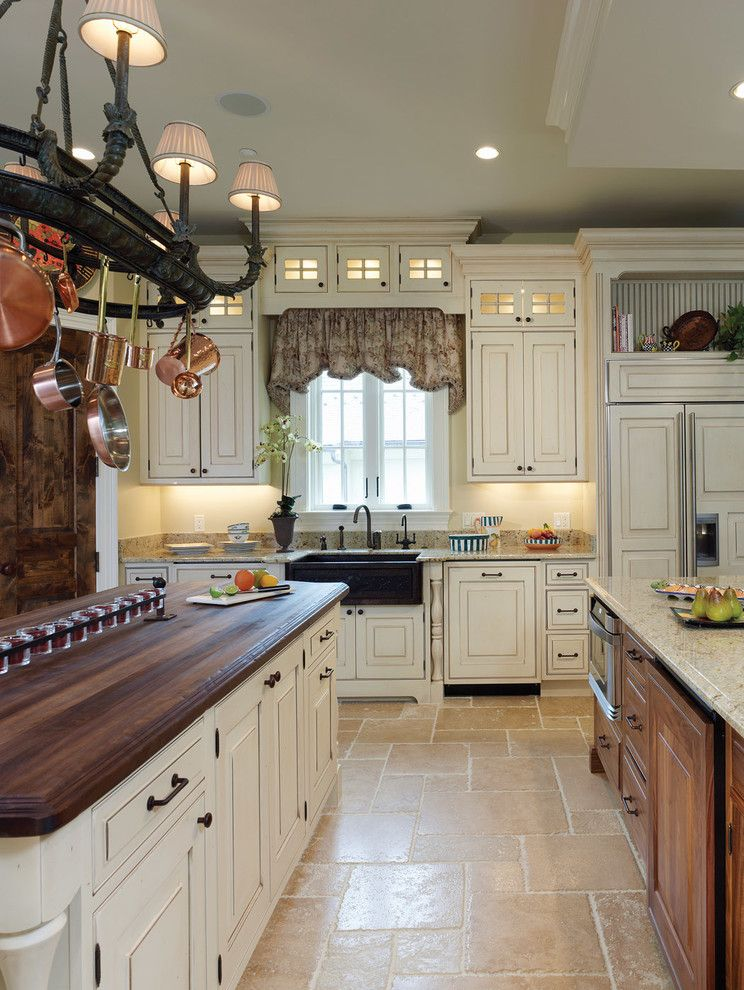 Cancos Tile for a Traditional Kitchen with a Pans and Kitchen Renovation   Rockville Md by Ferguson Bath, Kitchen & Lighting Gallery