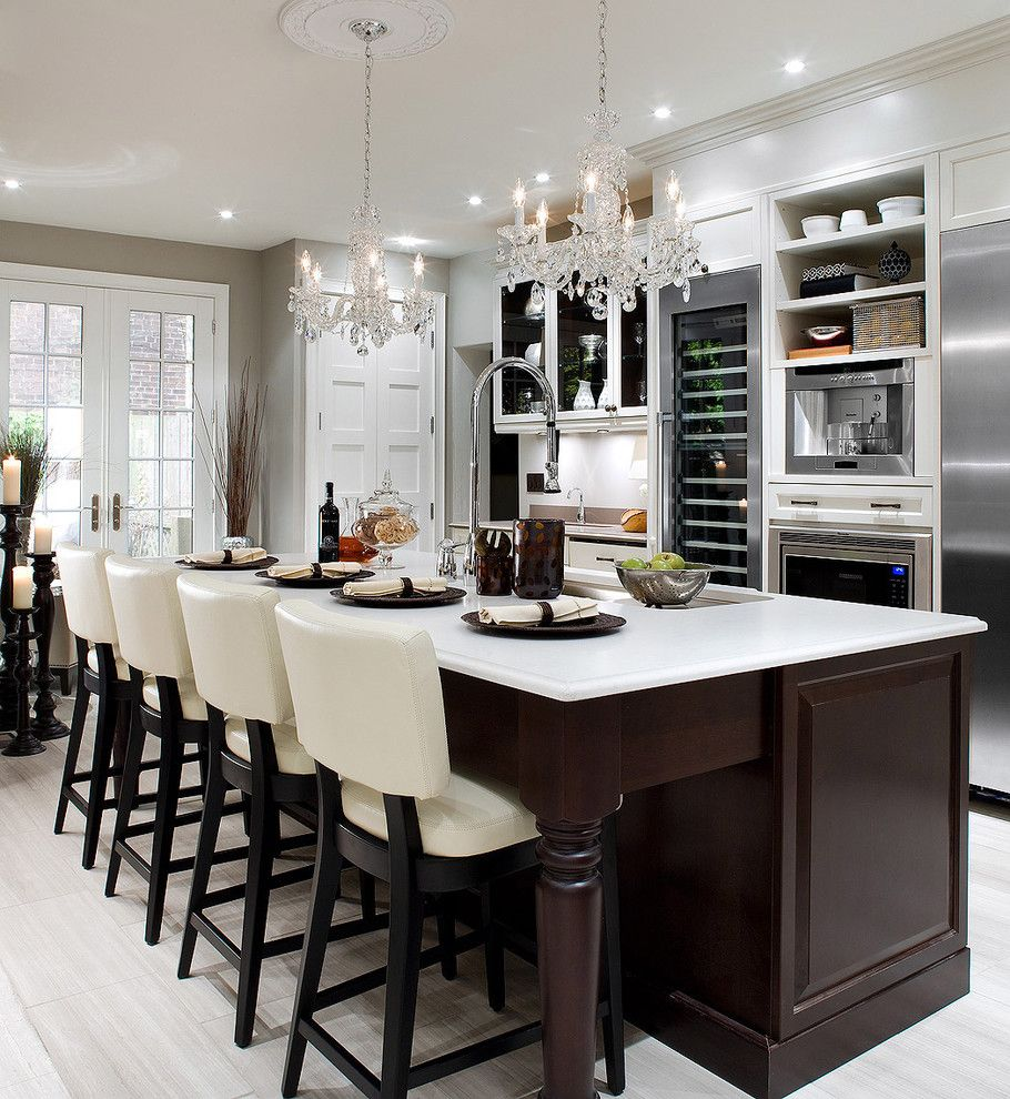 Candice Olsen for a Contemporary Kitchen with a Contemporary and Candice Olson Design by Brandon Barré Architectural Interior Photographer