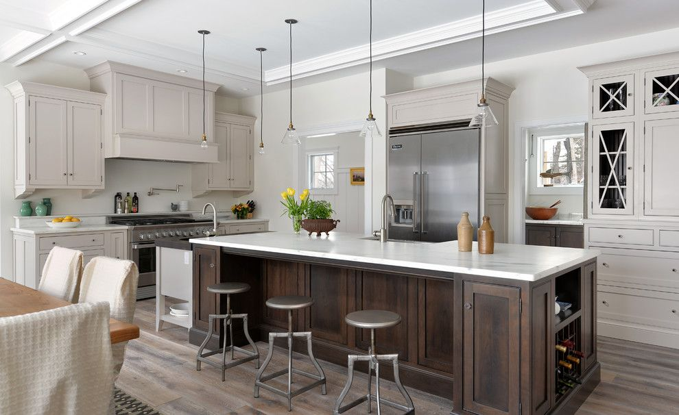 Candlelight Cabinetry for a Traditional Kitchen with a Inset Cabinetry and Royal River by Kitchen Cove Cabinetry & Design