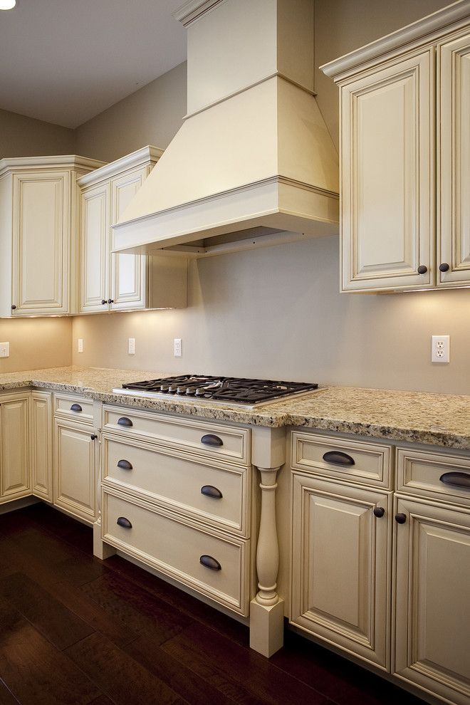Candlelight Cabinets for a Traditional Kitchen with a Granite Countertops and Custom Home   Draper by Candlelight Homes
