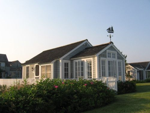 Cape Cod Brass for a Traditional Exterior with a Coastal and the Little House on Cape Cod by Becky Harris