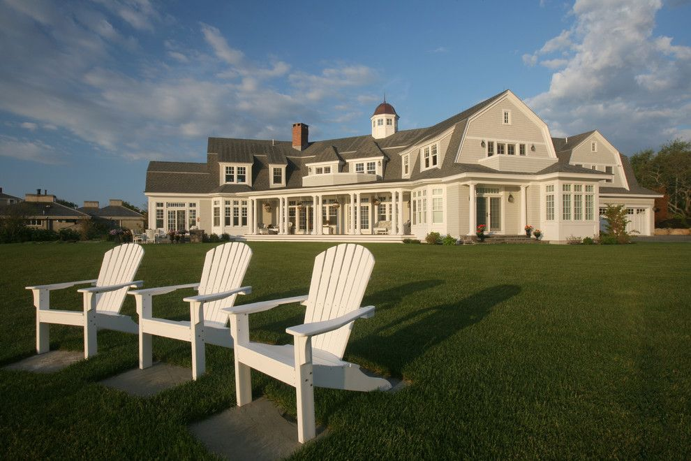 Cape Cod Brass for a Victorian Exterior with a Lantern and Chatham   Wilkey Way by Duckham Architecture & Interiors