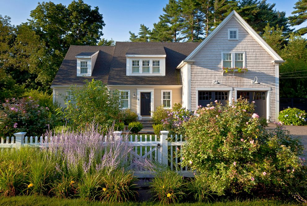 Cape Cod Lumber for a Traditional Exterior with a Craftsman and Cottage Renovation by Sean Papich Landscape Architecture