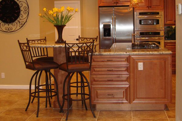 Capitol Granite for a  Kitchen with a Custom Granite Countertops and Kitchen by Capitol City Granite