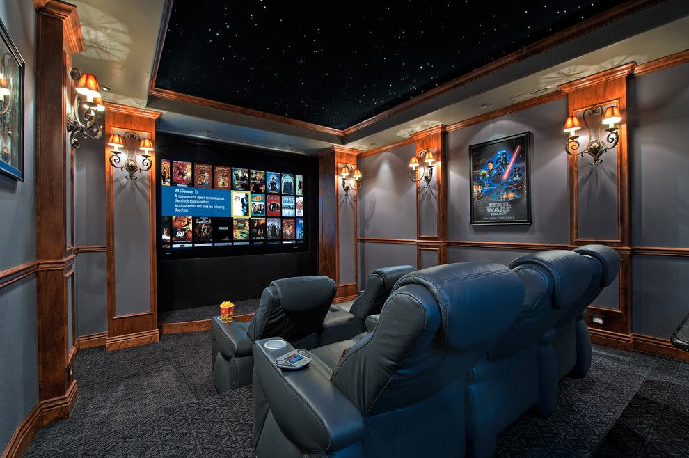 Carpet Tech Lubbock for a Contemporary Home Theater with a Risers and Orion Theater by Cinematech Theater Seating, Design & Acoustics