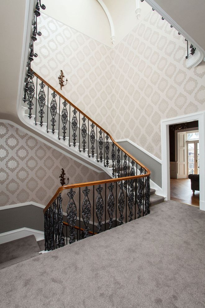 Carpeted Stairs for a Traditional Staircase with a Carpeted Stairs and St Andrews Scotland by Somner Macdonald Architects