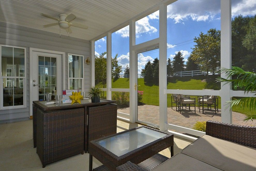 Caruso Homes for a  Spaces with a Backyard and Haydn by Caruso Homes