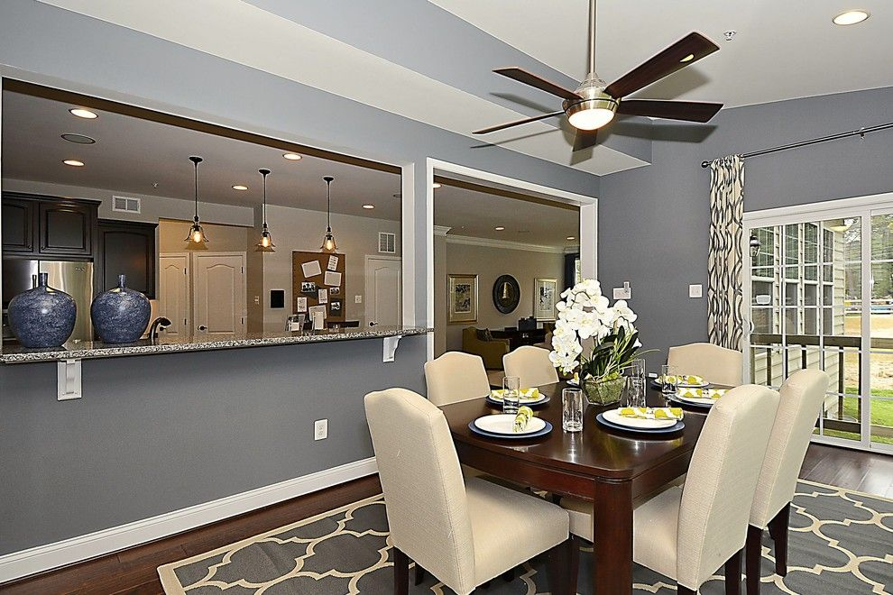 Caruso Homes for a  Spaces with a Dark Hardwood Floors and Emory Ii Model by Caruso Homes