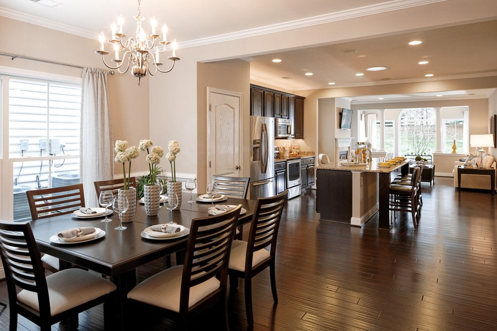Caruso Homes for a  Spaces with a Dining Room and Haydn by Caruso Homes