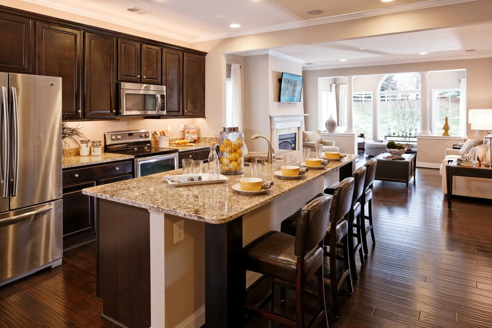 Caruso Homes for a  Spaces with a Hardwood Flooring and Haydn by Caruso Homes