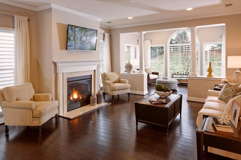 Caruso Homes for a  Spaces with a Open Floor Plan and Haydn by Caruso Homes