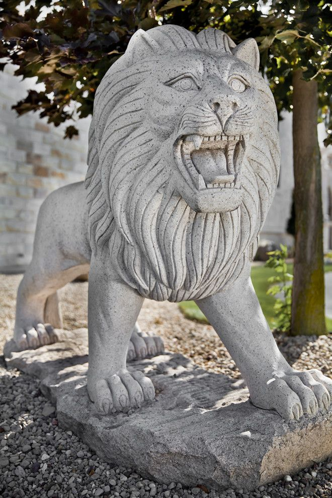 Carved Creations for a Eclectic Spaces with a Carved Stone and Carved Stone Creations Showroom and Outdoor Gallery by Carved Stone Creations, Inc.