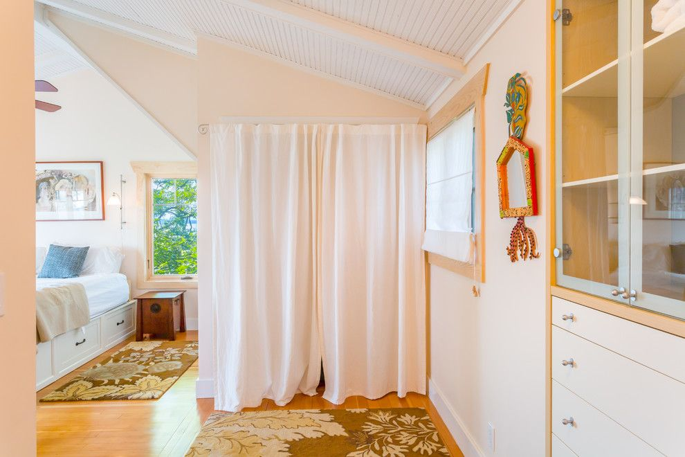 Cassies Closet for a Beach Style Bedroom with a Symmetry and West Seattle Waterfront Retreat by Cassie Daughtrey Realogics Sotheby's Realty