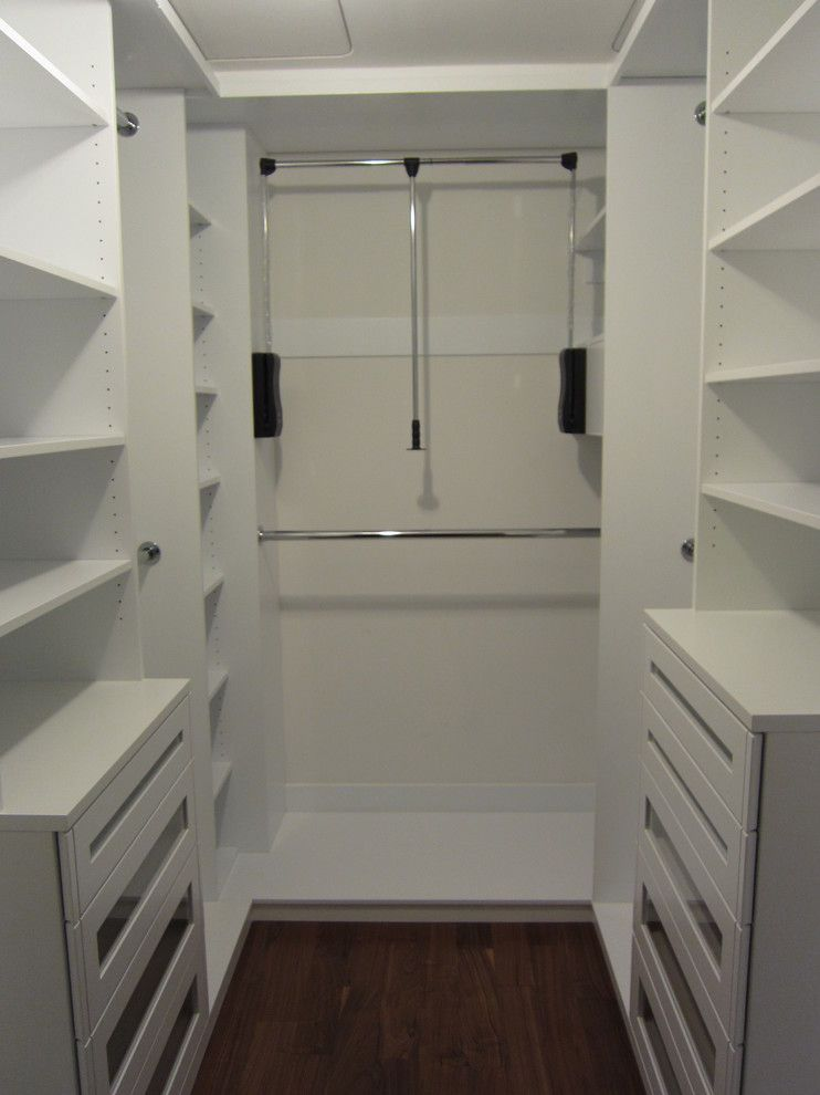 Cassies Closet for a Modern Closet with a Modern and Doernberg Design Associates, Inc. by Doernberg Design Associates, Inc.