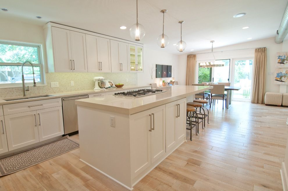 Ceasar Stone for a Contemporary Kitchen with a Texas and Tarrytown Remodel by Butter Lutz Interiors, Llc