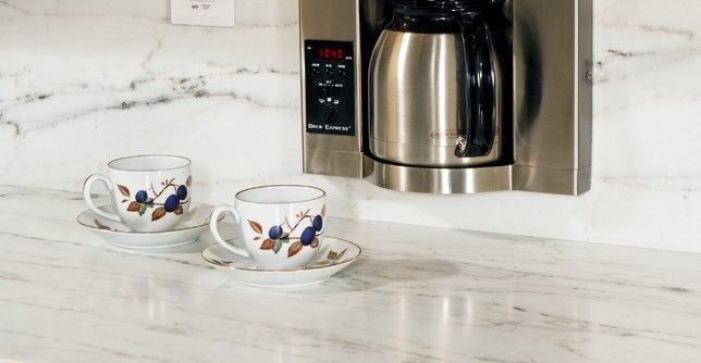 Ceaserstone for a Eclectic Kitchen with a Eclectic and Eclectic Kitchen by Virginia-kitchens.com