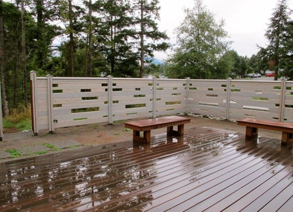 Cedar Creek Lumber for a  Patio with a Western Red Cedar Fencing and Fencing Ideas by Cedar Creek Lumber