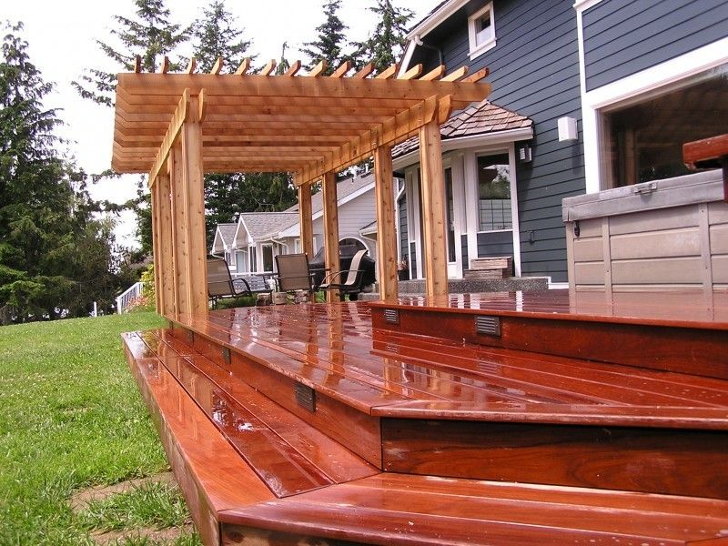 Cedar Creek Lumber for a Traditional Deck with a Decking and Awesome Decks by Cedar Creek Lumber