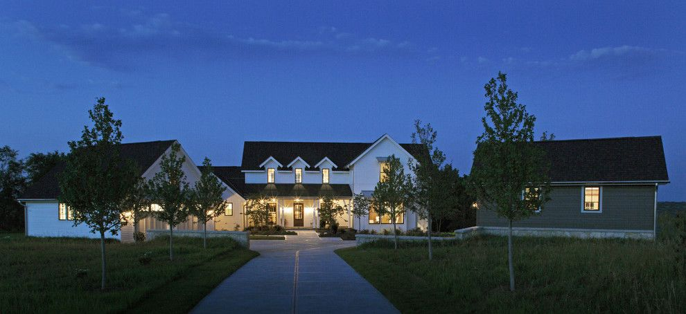 Celebrity Homes Omaha for a Farmhouse Exterior with a White Exterior and Modern Farmhouse by Curt Hofer & Associates