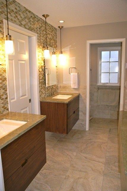 Ceramic Tileworks for a Contemporary Bathroom with a Contemporary and Wright Bathroom by Ceramic Tileworks