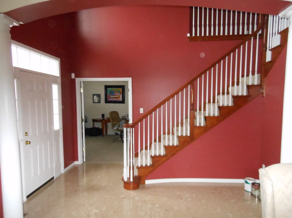 Certa Pro for a Traditional Staircase with a Traditional and Certapro Painting Project by Certapro Painters of Fenton, Mo