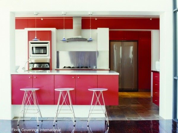 Certapro for a Modern Kitchen with a Kitchen and Kitchen   Bold Accents by Certapro Painters®