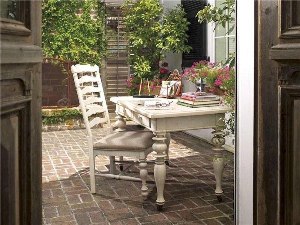Chapin Furniture For A Transitional Patio With A Desk And Gallery By Chapin Furniture Outlet Inc