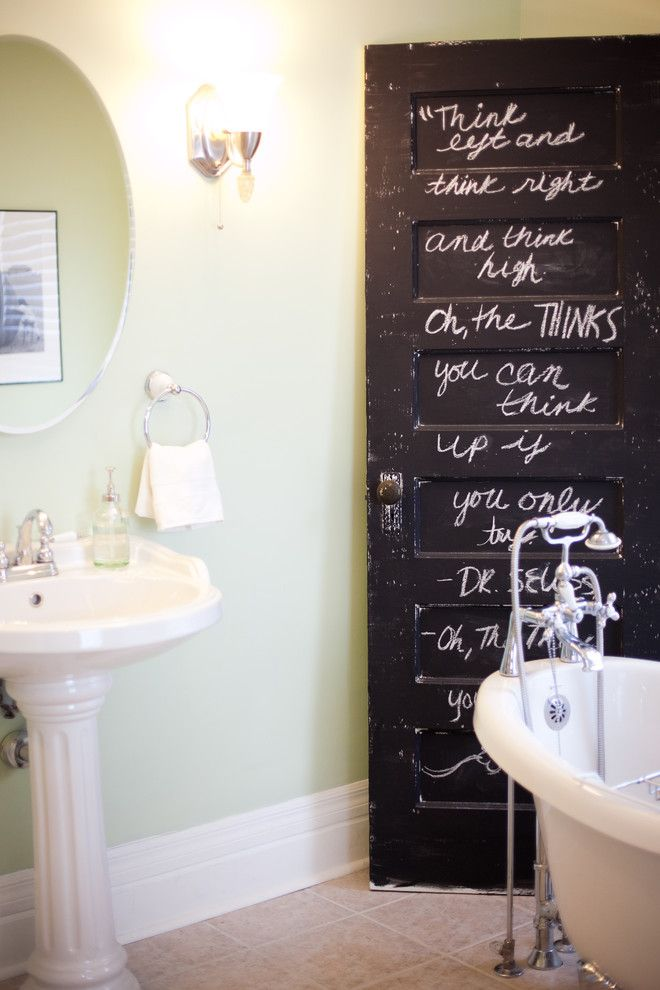 Charleston Homes Omaha for a Traditional Bathroom with a Green and Master Bathroom by Jessica Mckay