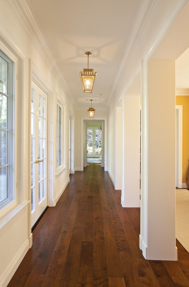 Chelsea Plank Flooring for a Traditional Hall with a Lanterns and Piedmont Residence by Matarozzi Pelsinger Builders