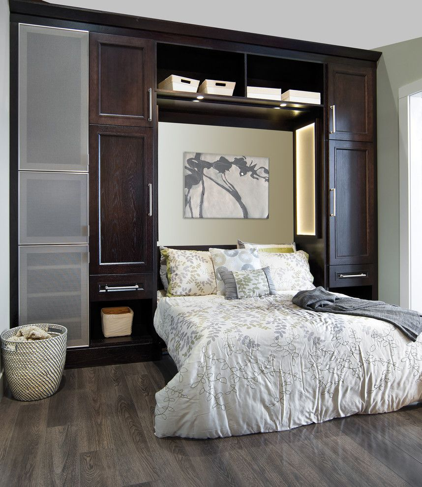 Chesapeake Rv Solutions for a Contemporary Bedroom with a Built in Cabinets and Wellborn Cabinet by Wellborn Cabinet, Inc.