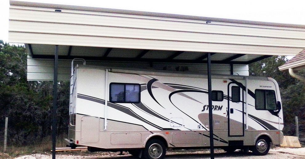 Chesapeake Rv Solutions for a  Garage with a Rv and Gallery by Architectural Metal Solutions