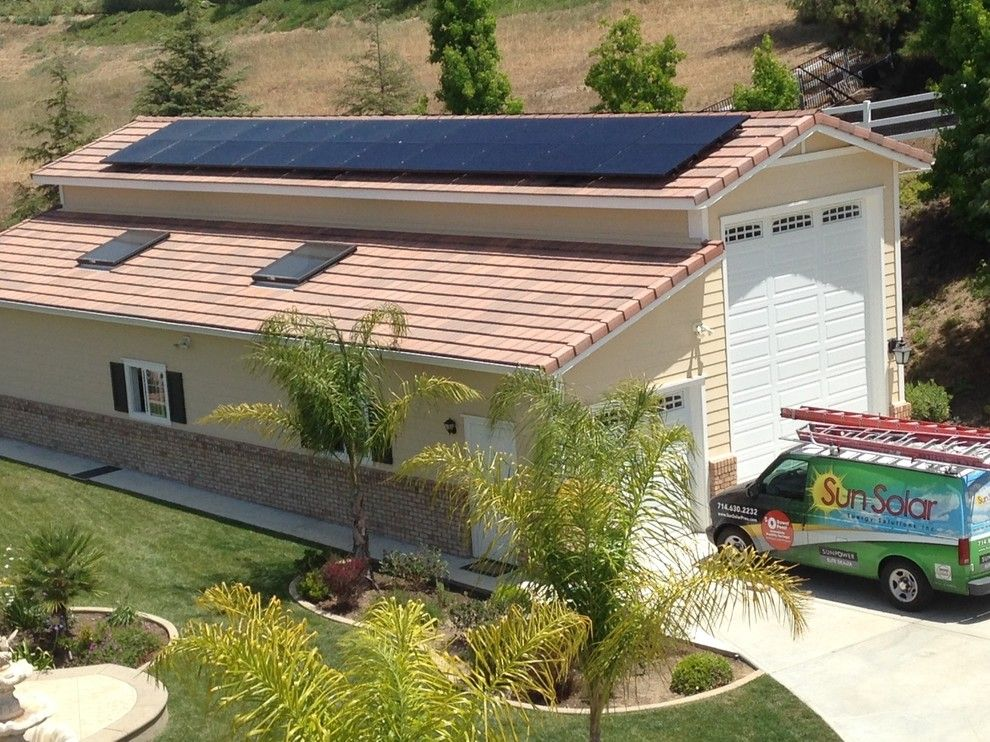Chesapeake Rv Solutions for a Modern Spaces with a Modern and Fallbrook Rv and Toys Garage by Sun Solar Energy Solutions, Inc.