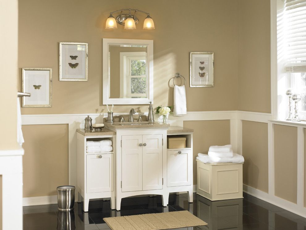 Chesapeake Rv Solutions for a Traditional Bathroom with a Faucet and Classic Bath Packed with Storage Solutions by Lowe's Home Improvement