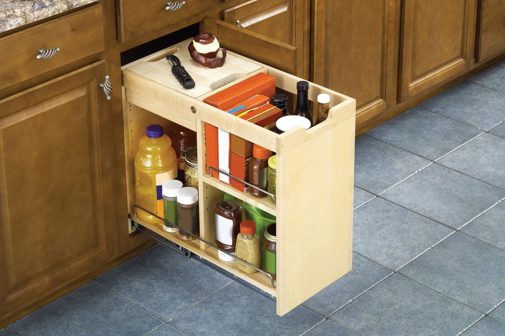 Chesapeake Rv Solutions for a Traditional Kitchen with a Cupboard Organizer and Kitchen Cabinet Organization Solutions by Ornamental Mouldings