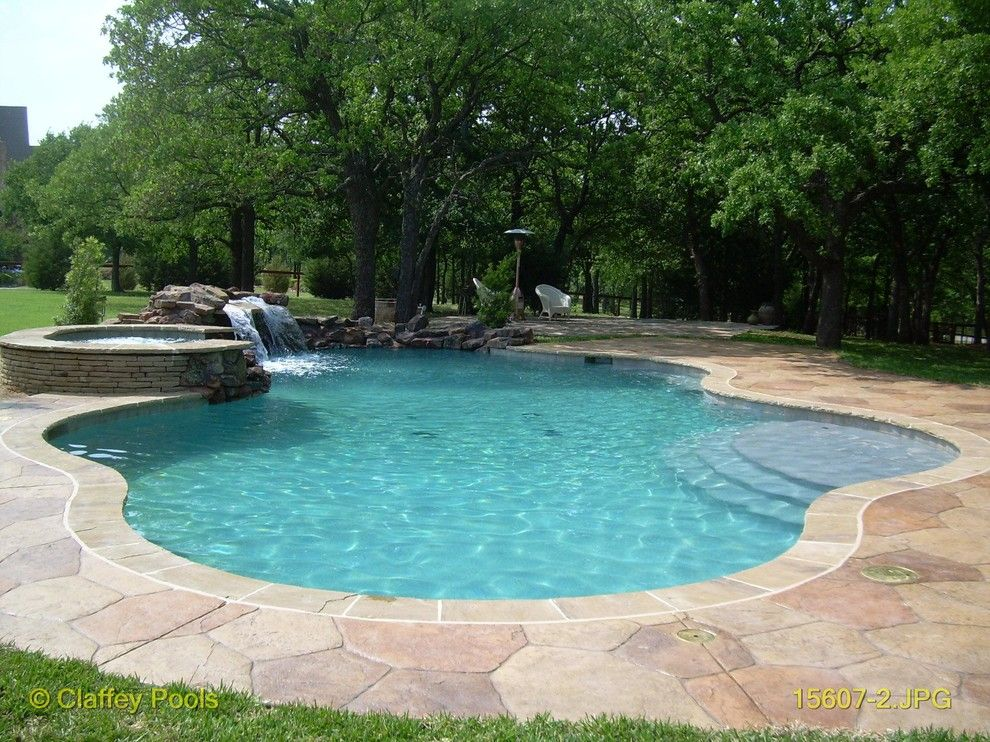 Claffey Pools for a  Pool with a Free Form and Signature Linear Pools by Claffey Pools